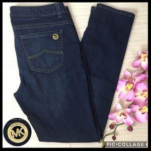 Michael Kors Skinny Dark Wash Jeans